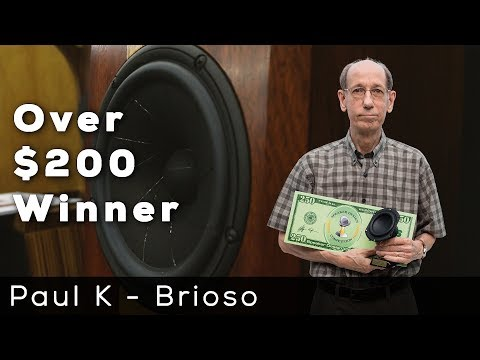 Speaker Design Competition Winner - Paul Kittinger - Brioso