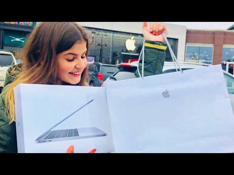 Трачу 1400 долларов в Apple Store Америка Распаковка MacBook Pro