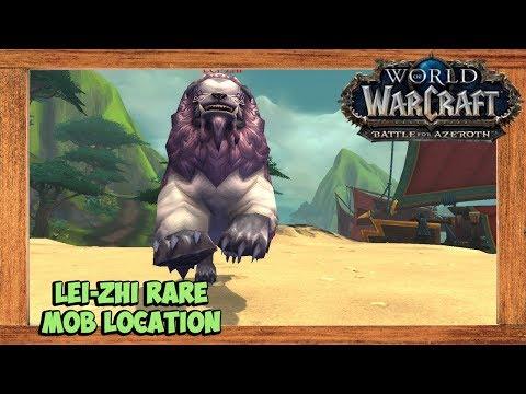 World of Warcraft Lei-zhi Rare Mob Location