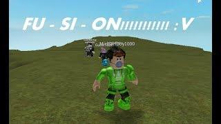 Me fusiono con Personas!!!   Roblox : Fusion Fighters   MichaelVIII