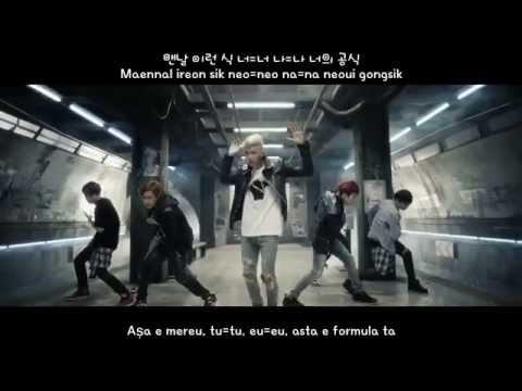[Han/Rom/Romanian Subs] BTS(방탄소년단)- DANGER M/V
