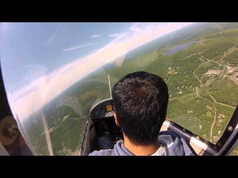 Glider Flight Training (Video 1 of 2) - Memorial Day Weekend 2013