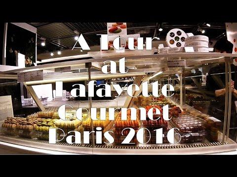 A Tour at Lafayette Gourmet, Paris 2016 GoPro Hero4 Session