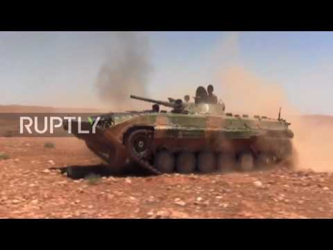 Syria: Roads between Palmyra and Damascus liberated