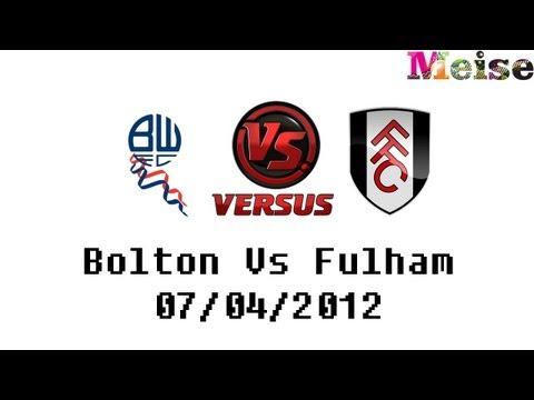 Football Analysis - Bolton Vs Fulham 0-3 C.Dempsey & M.Diarra Goals - 07/04/2012