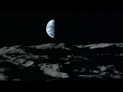 Japan releases breath taking HD photos of Earth rising over the Moon