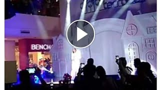 Sarah Geronimo DINUMOG  For Christmas Tree Lighting Ceremony @ Fairview Terraces - Nov 11 2017