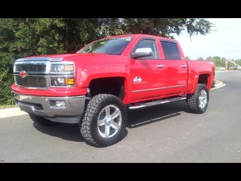Sold 2014 Chevrolet Silverado Ltz Crew Cab Rocky Ridge Lifted Victory Red Wilson County Chevrolet