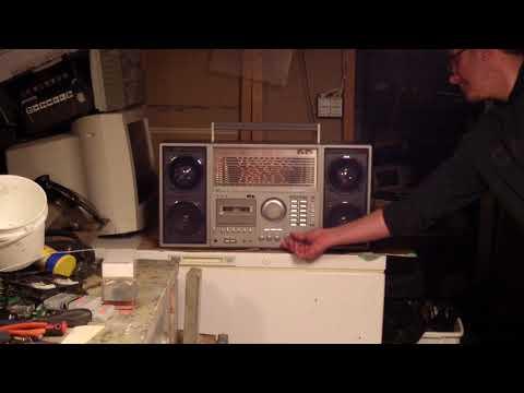 My PORSONIC PQR-9963 ** 11 Band Cassete Radio Recorder with NEW Davinci Woofers