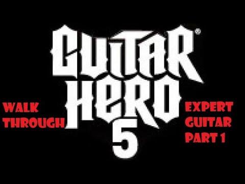 Guitar hero 5 career mode GUITAR EXPERT part 1