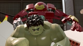 LEGO Marvel's Avengers (Vita) 100% Guide #6 - Hulkbuster Vs. Hulk (All Collectibles)