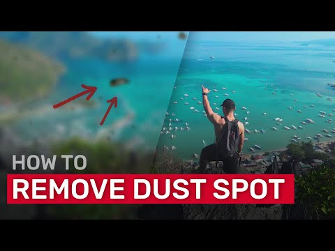 How To Remove Dust Spots From Video Footage Using Content Aware Fill | After Effects Tutorial