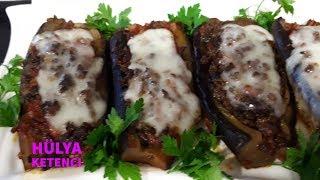 Karnıyarık (Patlıcanları Kızartmadan Hafif Karnıyarık) Tarifi - Hülya Ketenci - Yemek Tarifi