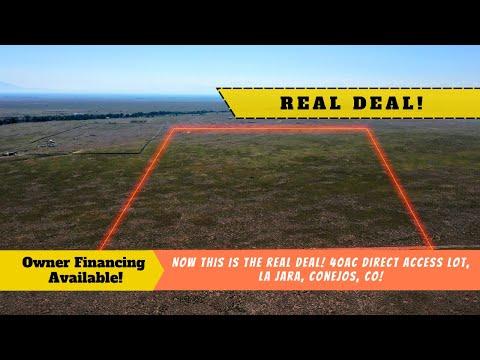 THE SOLITUDE OF IT ALL! Your 40 AC Property, Capulin and La Jara Area, Conejos County, Colorado
