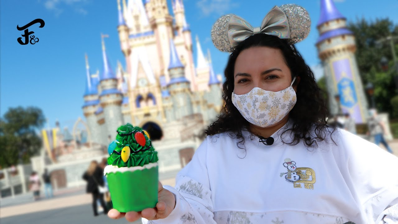 PROBANDO SNACKS DE NAVIDAD EN MAGIC KINGDOM 2020 🎄 DISNEY WORLD