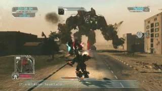 Transformers 2 Video Game BI vs Devastators