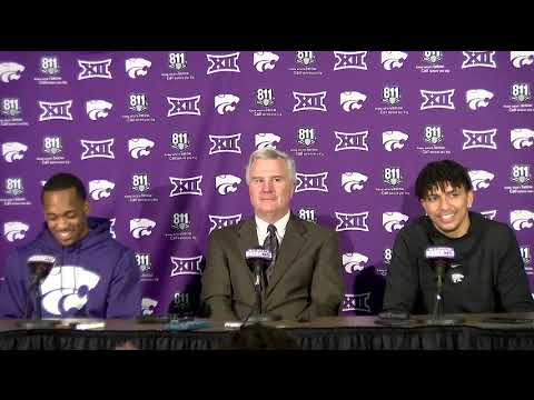 K-State vs West Virginia Post Game Press Conference