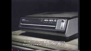 RCA VideoDisc player tv commercial
