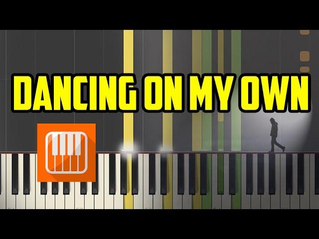 Dancing On My Own Calum Scott Piano Tutorial Chords Chordify