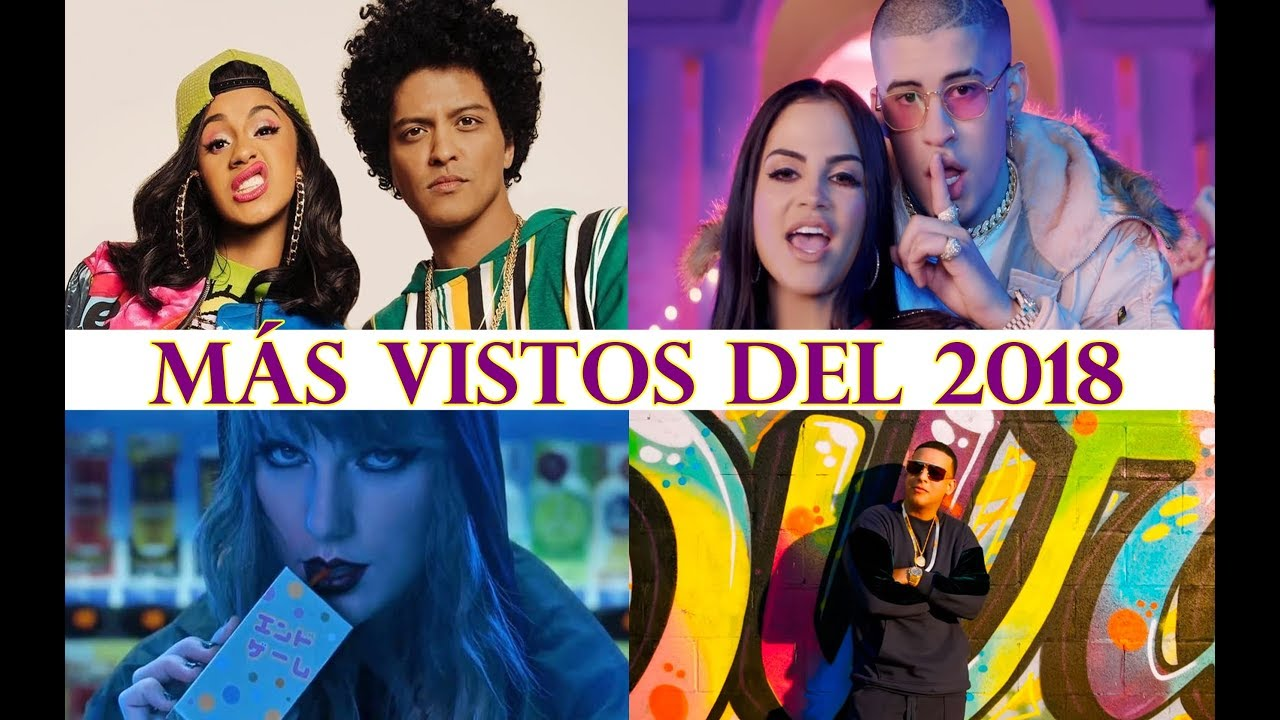 Los 10 v deos musicales m s vistos del 2018 youtube - Los videos mas vistos ...