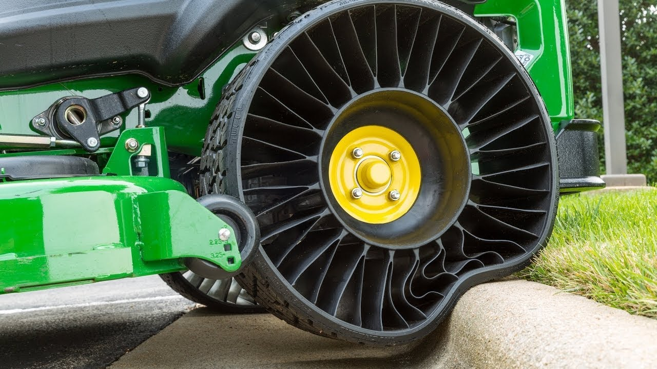 American Wheel And Tire >> NEW AIRLESS TIRE TECHNOLOGY for cars Off Road vehicles and ...