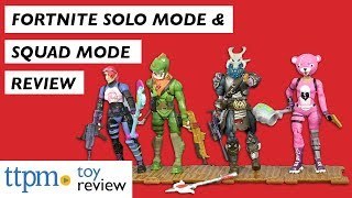 Fortnite Solo Mode and Squad Mode Figures from Jazwares