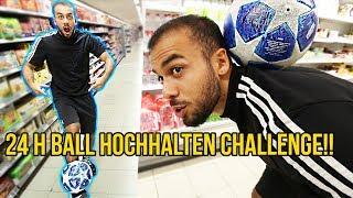 24 Stunden FUSSBALL Hochhalten Challenge!!