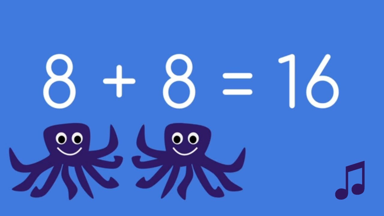 Your Kids Can Learn Math Facts With These Doubles Addition Songs Doubles Addition Math Doubles Addition Facts Adding doubles video song