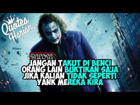 Terbaru 2019 Quotes Bijak Berkelas Kekinian Versi Joker