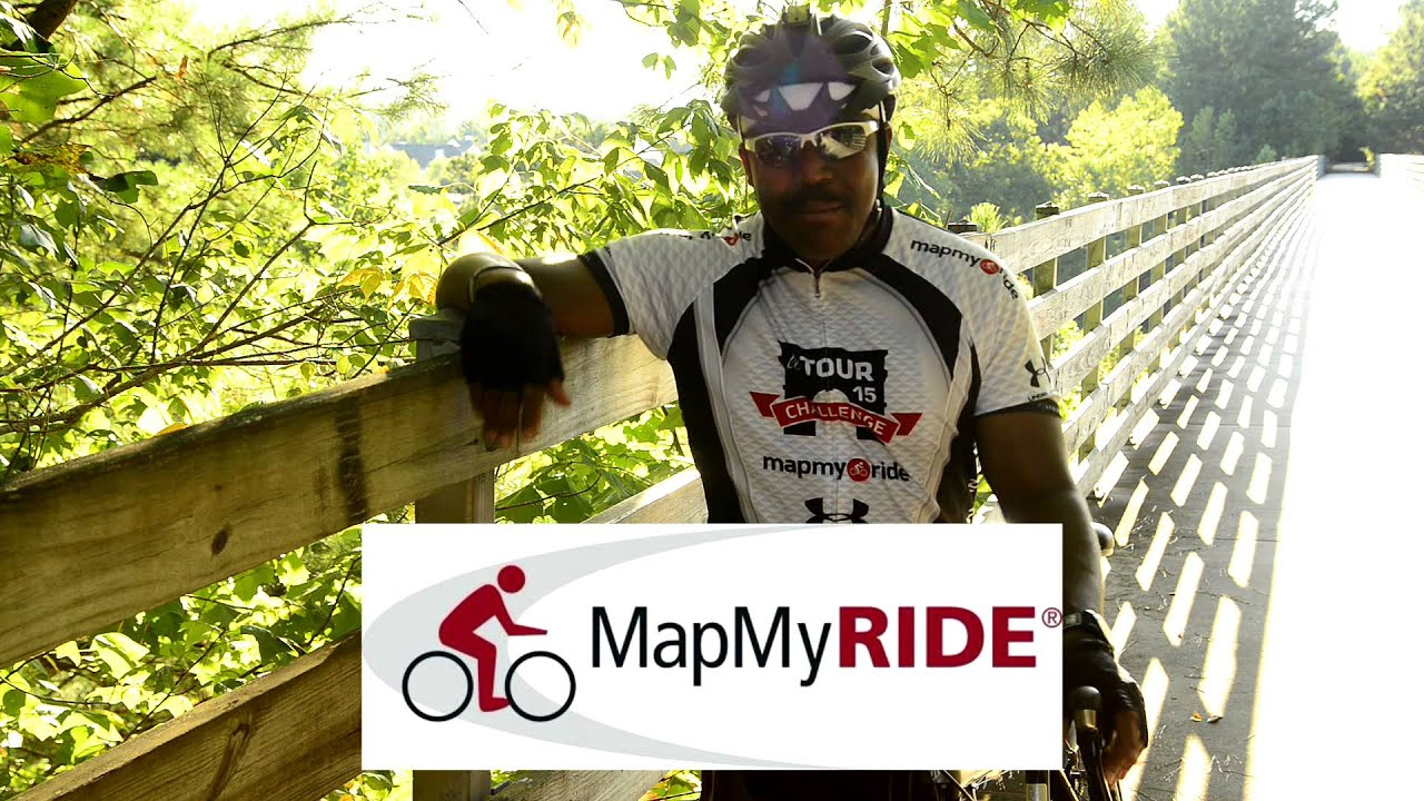 The Map My Ride Cycling Challenge YouTube - Map my bike ride