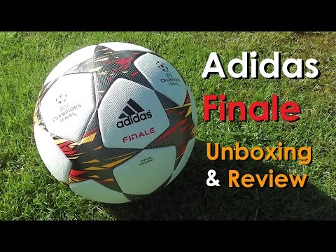 Adidas 'Finale 14' UEFA Champions League Ball   Unboxing & Review   HD