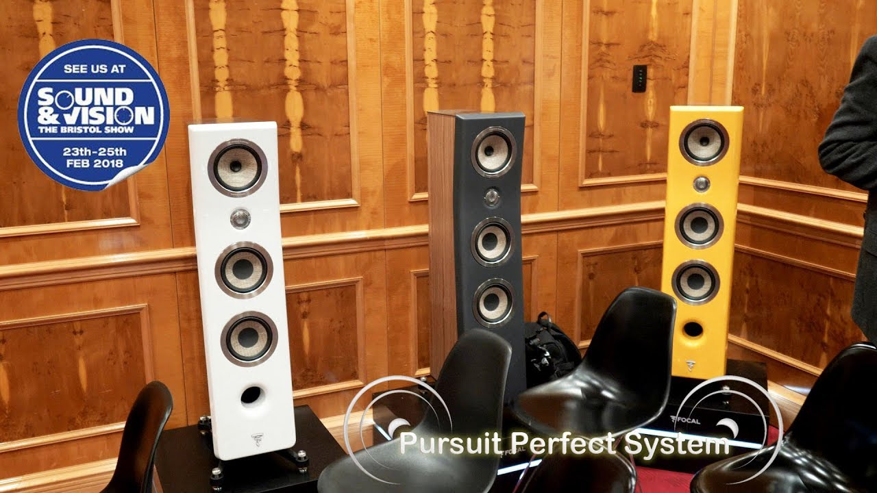 Focal Kanta No 2 Naim Uniti Nova Room @ Bristol Show Sound and Vision 2018