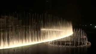 Dubai Fountain (to Verdi's Nabucco from Aida)