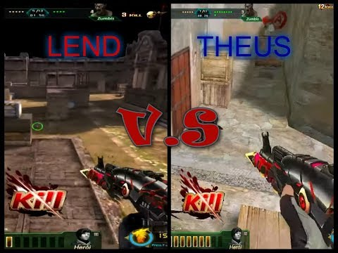 LEND VS THEUS EL GRAN DUELO BLOOD STRIKE