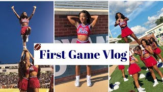 HBCU Cheer Vlog   SC State  First Football Game of the Szn