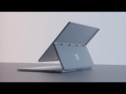 Surface Book Studio concept