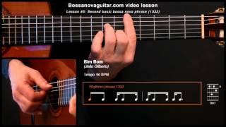 Bim Bom - Bossa Nova Guitar Lesson #5: Second Basic Phrase