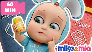 Clean Up Trash Song | Nursery Rhymes for Babies