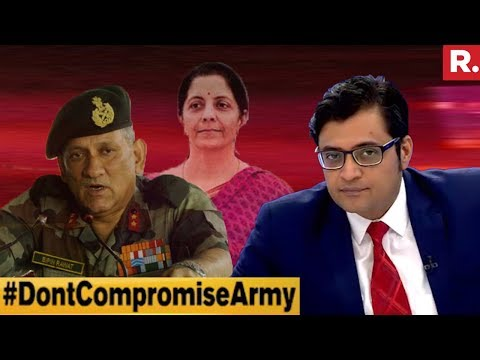 Can We Afford To Cut Defense Budget? | The Debate With Arnab Goswami
