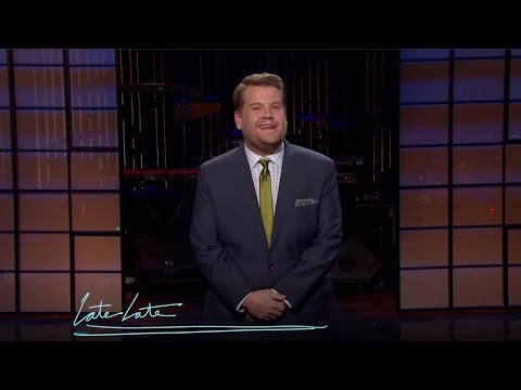 James Corden on California's Water Shortage