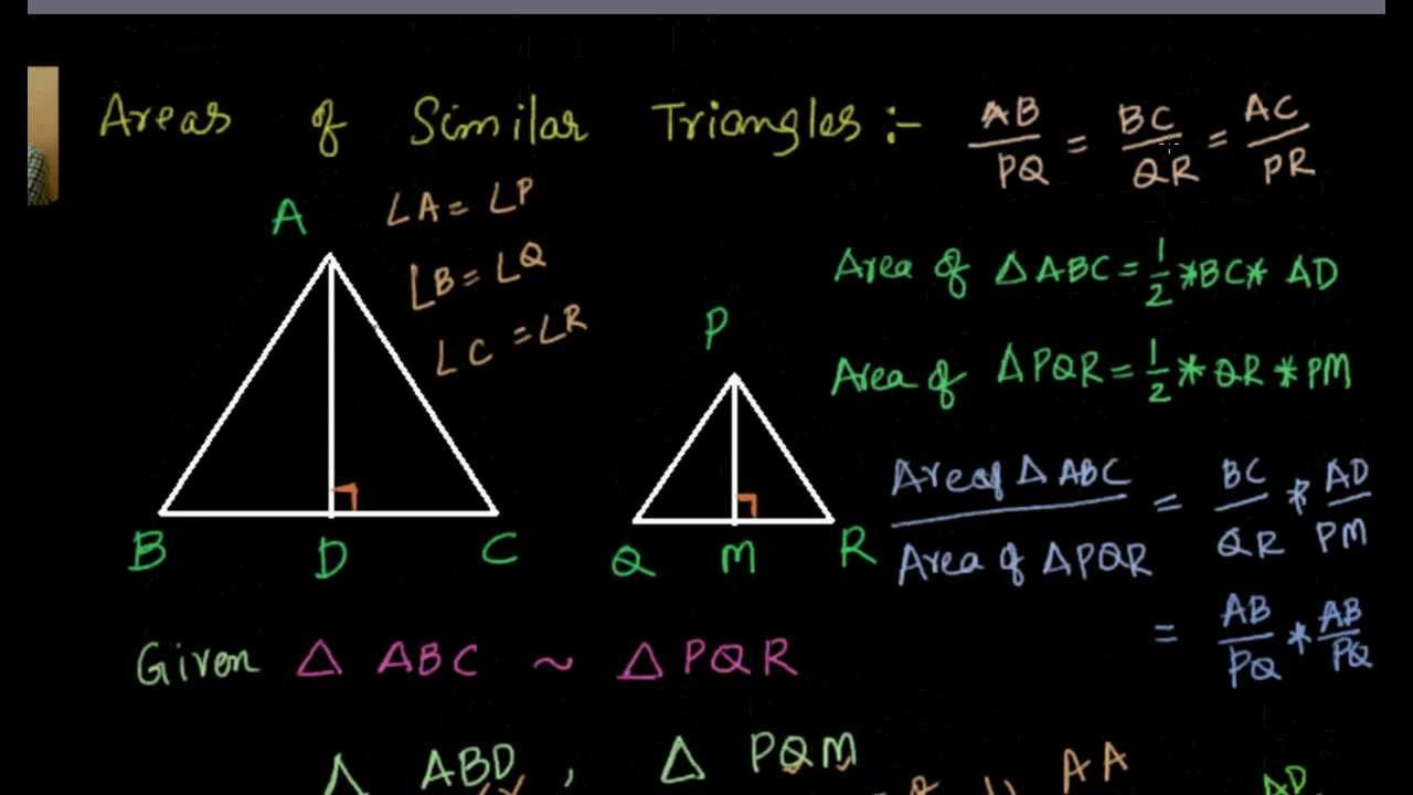 relationship between perimeters of similar triangles