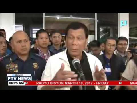 Mga NPA na nanambang sa mga pulis sa Davao del Sur, pinapatugis ni Pangulong Duterte