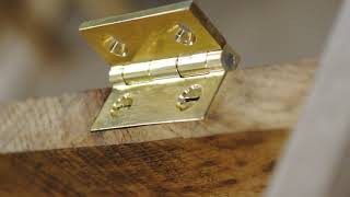 A Video For Brusso Hardware - Making a Dovetailed trinket Box