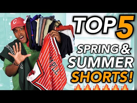 TOP 5 SHORTS FOR SPRING AND SUMMER! (AND WHERE TO BUY THEM)