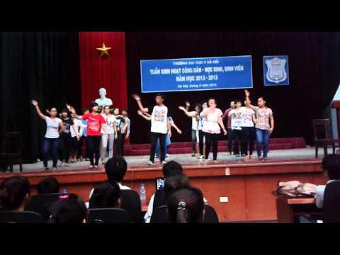 Y2F nhảy dân vũ Waka Waka Y1-Kết nối