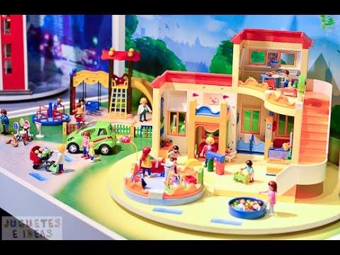 Novedades playmobil 2015 feria de juguetes de nuremberg youtube - Gran casa de munecas playmobil ...