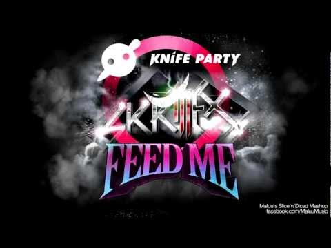Feed Me vs. Knife Party vs. Skrillex - My Pink Reptile Party.mp4