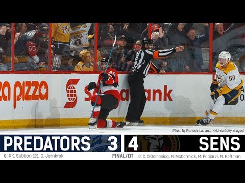 Sens vs. Predators - Players Post-game Media