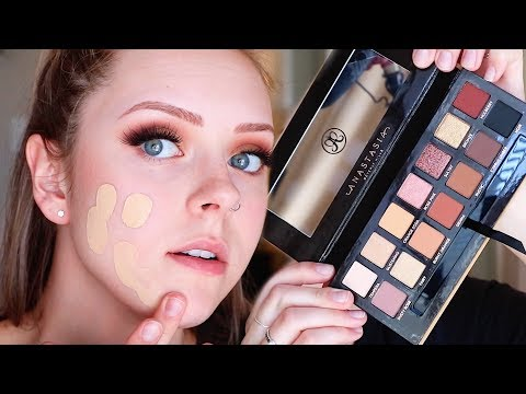 TRYING ALL NEW MAKEUP | Come Chat