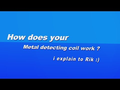 How does your metal detecting coil work explained
